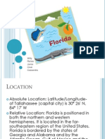 EDEL 453 Five Themes of Geography-Florida