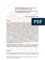 A Tutela Antecipada Contra a Fazenda Publica Como Garantia Da Efetividade Processual