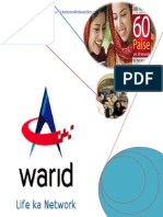 Warid Telecom MBA Report