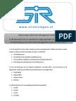 800_SIR - Oefenvragen tie Management