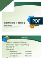 Software Testing 1