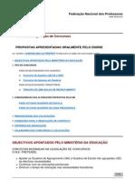 Revisão da legislação - Concurso 2009