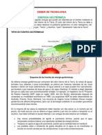 ENERGÍA GEOTÉRMICA E UNDIMOTRÍZ