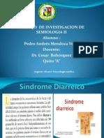 Síndrome Diarreico y constipacion   mendoza  pedro