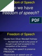 Freedom of Speech (2)