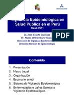 Vigilancia epidemiológica en Salud Pública en el Perú 2011
