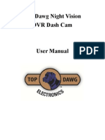 TD Dash Cam Instruction Manual