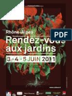 Rendez Vous Jardins Rhone Alpes 2011amrie