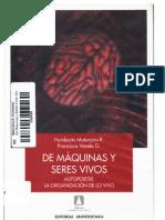 De Máquinas Y Seres Vivos (Maturana - Varela)