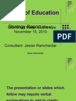 Strategic Report[4] 15-11-10