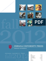 Indiana University Press Fall 2012 Catalog