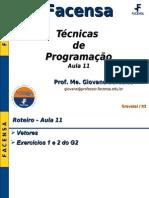 Facensa_-_Tecnicas_de_Programacao_-_Aula_11