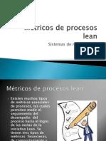 Métricos de procesos lean