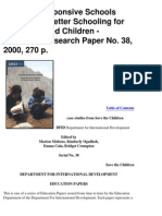 Save the Children Report