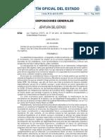 BOE Ley 2/2012 de estabilidad presupestaria y sostenibilidad financiera ESPAÑA
