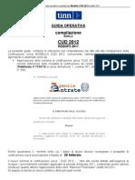 Guida Al CUD 2012