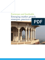 Fortresses and Footholds - Emergin Market Growth Strategies, Practices and Outlook Deloitte 2011)