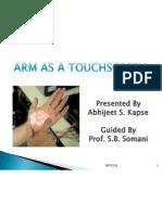 Arm as a Touchscreen,Skinput