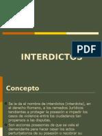 P. Sumarisimo INTERDICTO