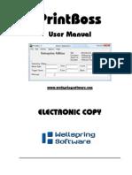 PrintBoss Standard-Enterprise Manual