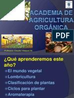 ACADEMIA DE AGRICULTURA ORGÁNICA