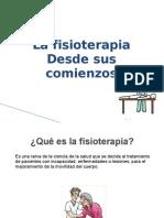 Relatoria  fisioterapia