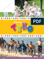 Camp TEKO - 2012 - Brochure