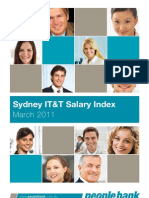 People Bank IT&T Salary Index Sydney March 2011
