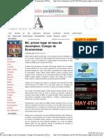 29-04-12 Baja California, Primer Lugar en Tasa de Desempleo