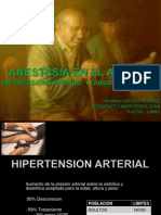 Anestesia en El Anciano