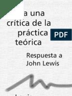 Althusser Louis - Para Una Critica de La Practica Teorica