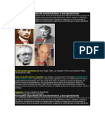 Principales Exponentes Del Constructivismo y Sus Aportaciones