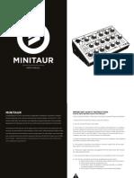 Minitaur Manual