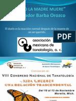 002 Cuando Se Muere La Madre (Dr. Salvador Barba)