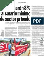 Aumento Al Salario Minimo