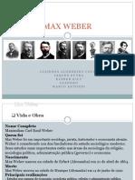 Apresentacao MAX WEBER CTPGE Novo