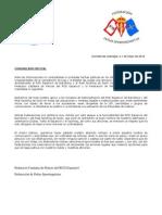 Comunicado oficial      Peñas RCDE y RSG