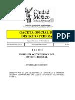 Código Financiero del Distrito Federal