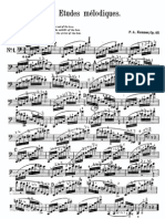 Kummer, 10 Melodic Etudes Op57 for Cello