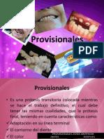 Provisionales (prótesis fija)