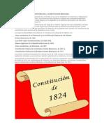 HISTORIA DE LA CONSTITUCIÓN MEXICANA
