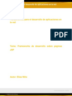 Frameworks de desarrollo sobre páginas JSP