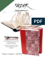 Bone Folder Vol 1 No 1