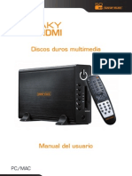 Manual Disco Duro Externo