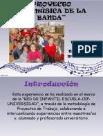 Proyecto LA MÚSICA DE LA BANDA