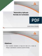 ADM a Aplicada Teleaula 6 Revisao Slides