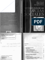 Meto Marradi-Archeti-piovani - Metodologia en Ciencias Sociales