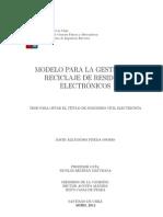 Modelo para la gestión de Reciclaje de Residuos Electrónicos
