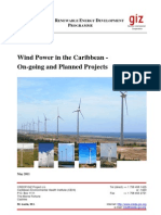 Wind Power in the Caribbean - On-going and Planned Projects, May 2011