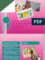Variedad de Lenguas Que Se Hablan en El Mundo-Nahuatl